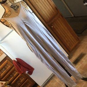 American Apparel sleeveless jumpsuit size medium